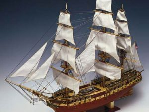 USS Constitution 1:82 Scale