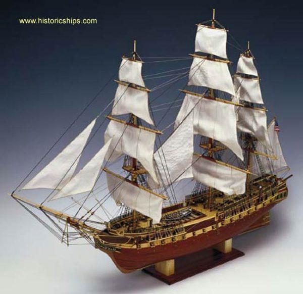 USS Constitution 1:82 Scale
