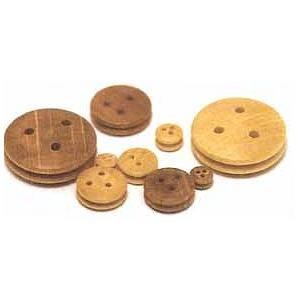 "Walnut Deadeyes 3/8"" (9 mm)"
