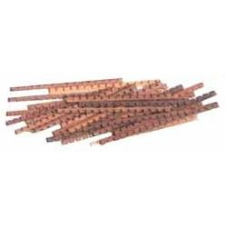 "Cherry Gratings (wood strips) 3/64"" (1 mm)"