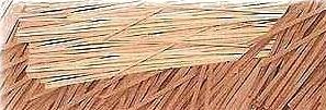 "Walnut Strips 3/64x1/16"" 1.0 x 1.5 MM - QTY. 6"