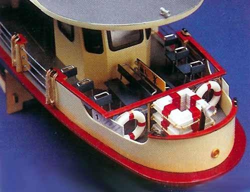 Venetian Motor Boat