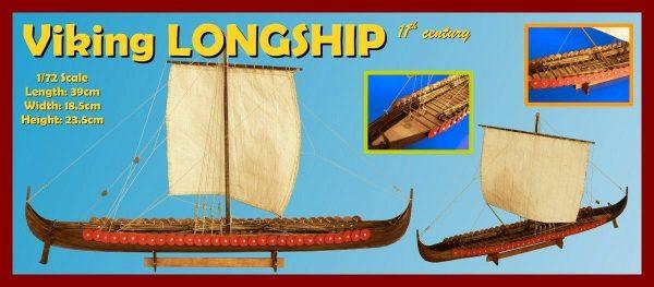 Viking Longship, 11th century - 1:35 Scale