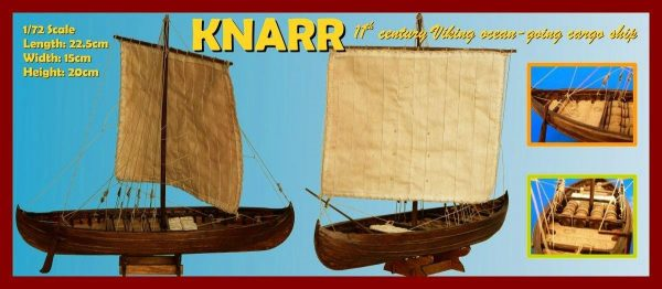 Viking Knarr, 11th Century - 1:72 Scale
