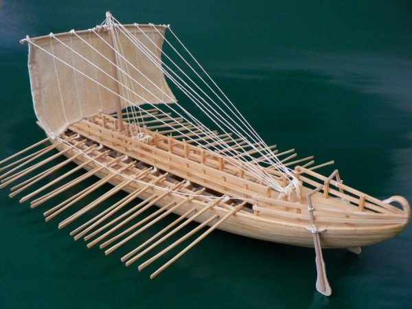 Greek Bireme, 6th century B.C