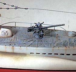 1936 U-boat Type VII-B