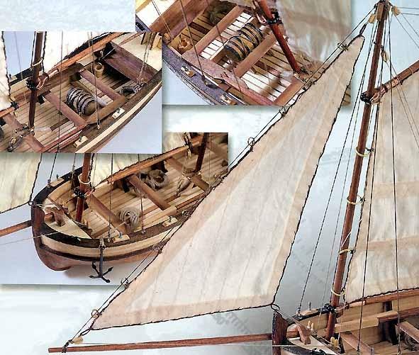 H.M.S. Endeavour's Longboat