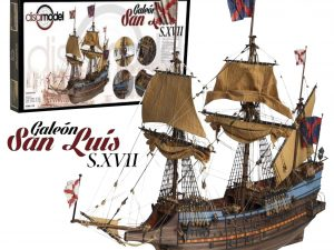 Galeon San Luis S. XVII Spanish Galleon