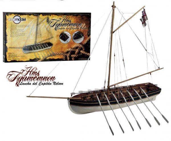 H.M.S. Agamemnon Launcha Del Capitan Nelson