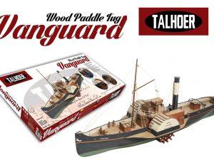 Wooden Paddle Tug Vanguard