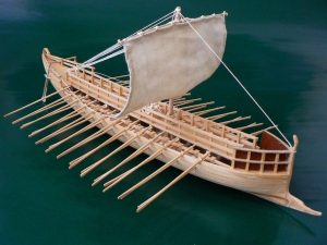 Greek Bireme, 6th century B.C., 1/72