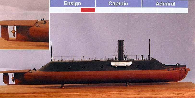 Merrimac Css Virginia Bluejacket Ship Kits Historic Ships