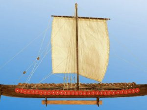 Viking Longship, 11th century - 1:72 Scale