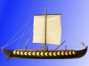 Viking Ship Gokstad 9th Century - 1:35 Scale