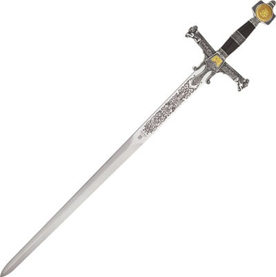 King Solomon Sword Silver