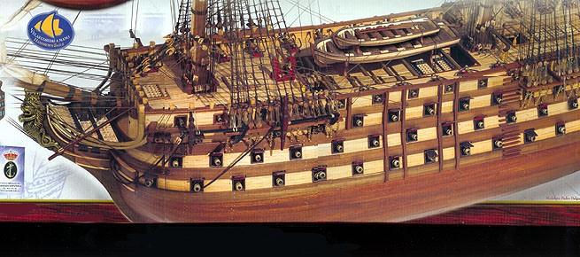 Santisima Trinidad Occre Models Of Spain Historic Ships