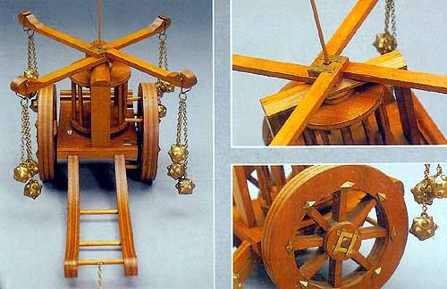 War Carriage - 15th Century