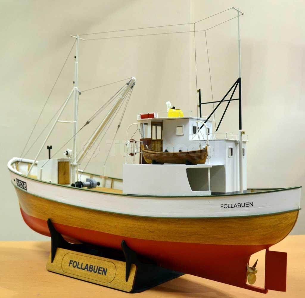 Follabuen - Norwegian Fishing Boat (SKM111) - Historic Ships