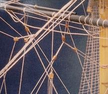 "Black Polyester Thread - Waxed - 6/0-0.0003"" .08mm"