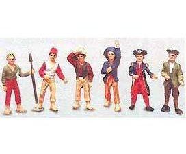 Ship's Crew & Figures 1/64 Scale