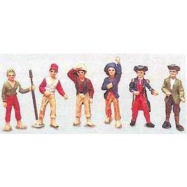 Ship's Crew & Figures 1/64 Scale