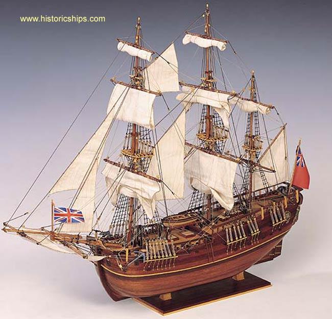 Hms Endeavour Paint Set Con80832ps Historic Ships