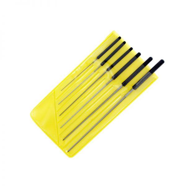 6 Pce Precision Cutting Broach Set (0.6 - 2.0mm)