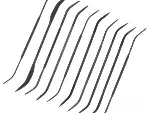 Modelcraft 10 Pce Medium Cut Double Ended Riffler Files Set