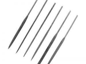 Modelcraft 6 Pce Needle Rasp File Set (140mm)