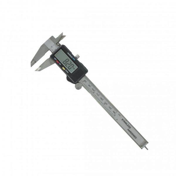 Modelcraft Metal Digital Caliper (150mm) [PGA1500] • Quality stainless steel frame • LCD 4 way measurement • 0.01mm graduation • True mm/inch conversion • Locking screw