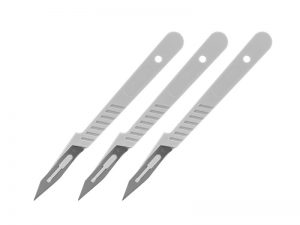 Disposable Scalpel Set x 3