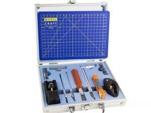 Modelcraft 50 Piece Knife Set & A5 Cutting Mat