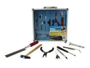13 Pce Railway & Hobby Hand Tool Set