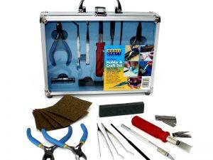 18 Pc Hobby and Craft Set