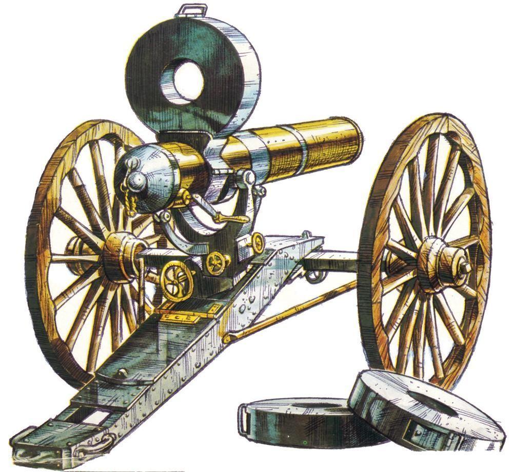 Mitragliera Gatling Gun