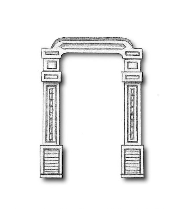 Metal Belfries 23mm