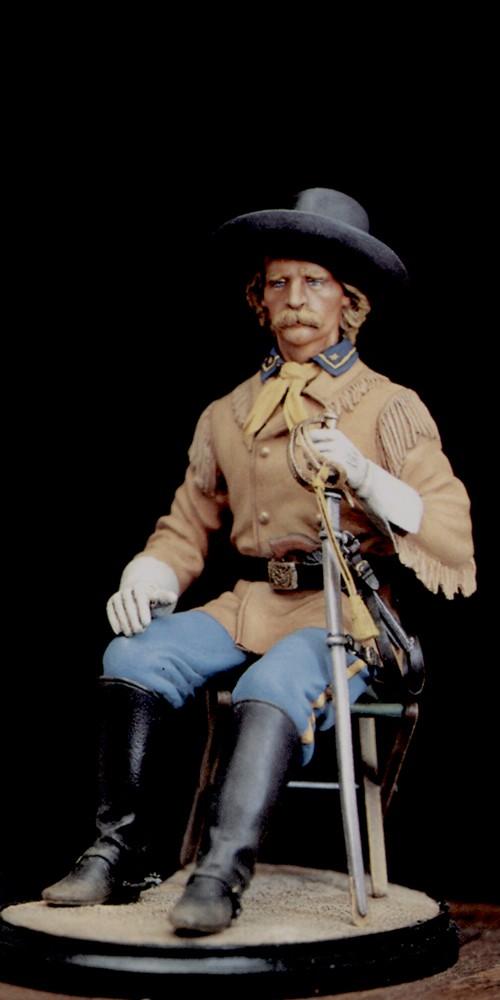 General Custer Sitting - 1868