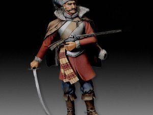 Rocroi Croatian Warrior - 1643