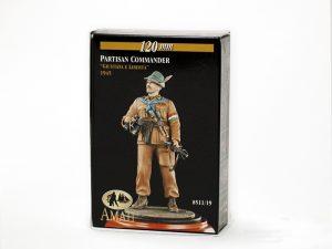 Italian partisans commandero - II World War