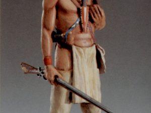 Iroquois warrior, America XVIII Century