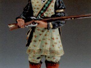 Seminole warrior - America 1833