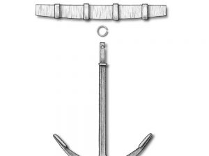 Old Style Anchors 40mm