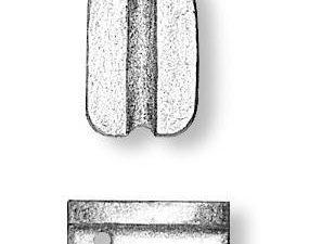Walnut Simple Blocks 5mm
