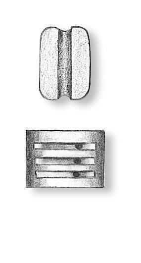 Walnut Triple Blocks 5mm