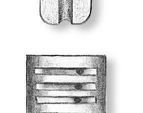 Walnut Triple Blocks 7mm