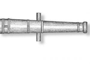 Metal Cannon Barrels 27mm
