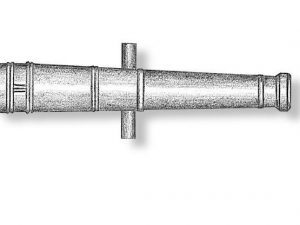 Metal Cannon Barrels 38mm