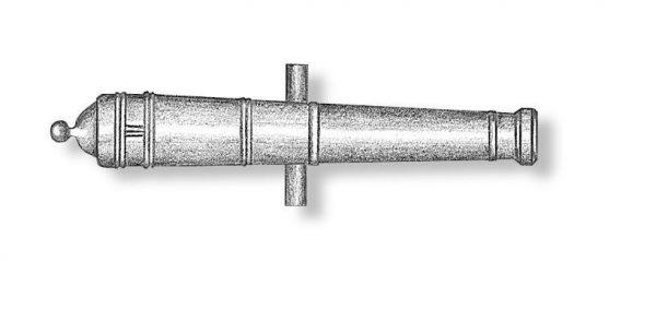 Metal Cannon Barrels 38mm