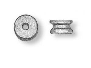Wooden Sheaves (Pulleys) Diameter 5mm (20)