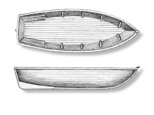 Caravel Lifeboats Sampan 55mm